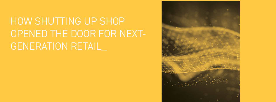 How shutting up shop opened the door for ecommerce